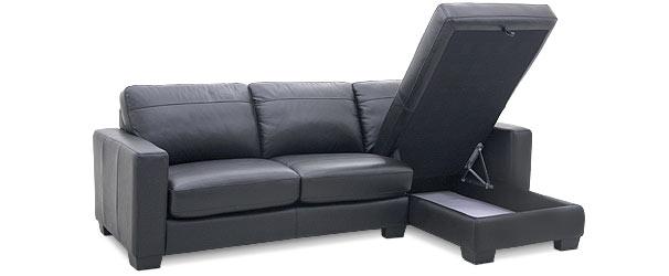 Sofas2go Dario Leather Sofabed